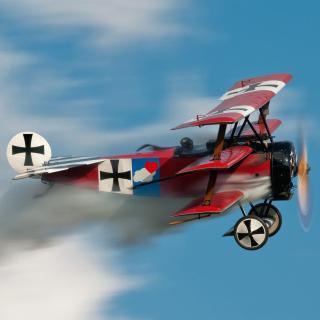 Fokker Dr I Triplane - Obrázkek zdarma pro iPad Air