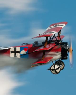 Fokker Dr I Triplane - Obrázkek zdarma pro iPhone 4