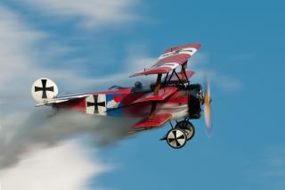 Fokker Dr I Triplane - Obrázkek zdarma pro 480x360