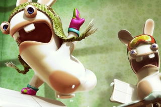 Crazy Rabbids Background for Android, iPhone and iPad