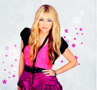 Miley Cyrus Blonde - Obrázkek zdarma pro iPad Air