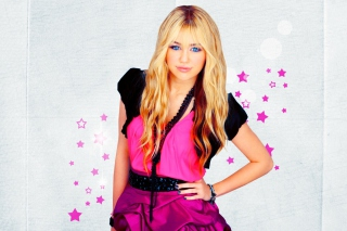 Miley Cyrus Blonde - Obrázkek zdarma pro Desktop Netbook 1366x768 HD