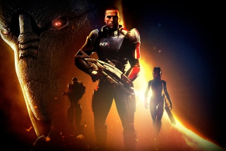 Mass Effect Background for Android, iPhone and iPad