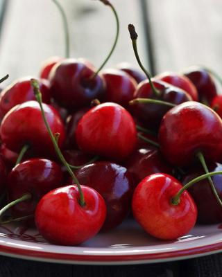 Cherry Plate - Obrázkek zdarma pro Nokia Asha 309