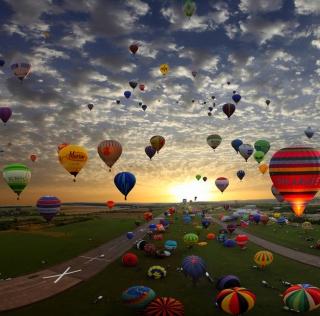 Air Balloons - Obrázkek zdarma pro iPad Air