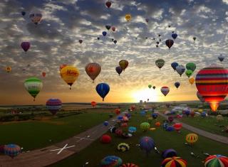 Air Balloons - Obrázkek zdarma pro 720x320