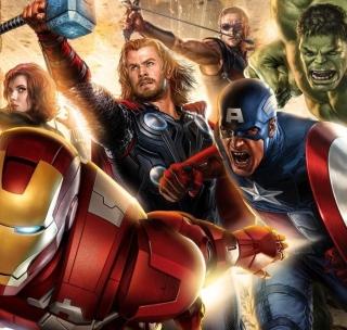 Avengers 2014 - Obrázkek zdarma pro iPad Air