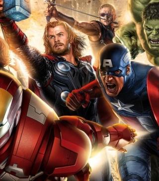 Avengers 2014 - Obrázkek zdarma pro Nokia X1-00