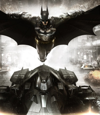 Batman: Arkham Knight - Obrázkek zdarma pro 320x480