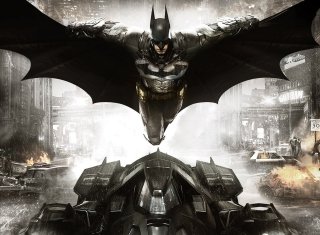 Batman: Arkham Knight Background for Android, iPhone and iPad
