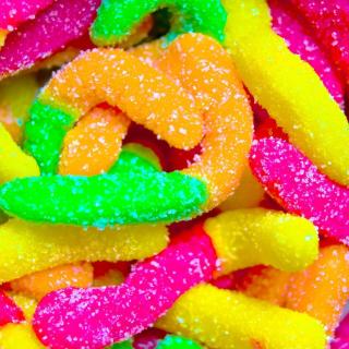 Lollipops in sugar - Obrázkek zdarma pro 128x128