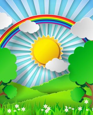 Sunny Day - Obrázkek zdarma pro Nokia Asha 203