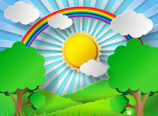 Free Sunny Day Picture for Android, iPhone and iPad