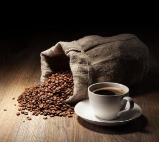 Still Life With Coffee Beans - Obrázkek zdarma pro 208x208