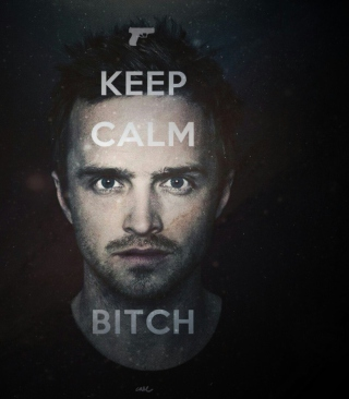 Keep Calm And Watch Breaking Bad - Obrázkek zdarma pro iPhone 4S