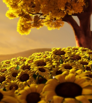 Sunflower World - Obrázkek zdarma pro 320x320