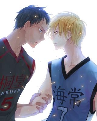 Kurokos Basketball Wallpaper for Nokia Asha 303