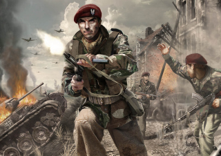 Call of Duty 3 Pc Game Wallpaper for Android, iPhone and iPad