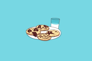 Funny Cookies Picture for Android, iPhone and iPad