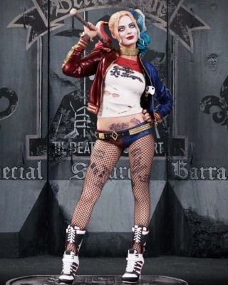 Suicide Squad, Harley Quinn, Margot Robbie Poster - Obrázkek zdarma pro 480x854