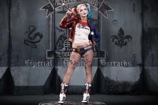 Suicide Squad, Harley Quinn, Margot Robbie Poster Picture for Android, iPhone and iPad
