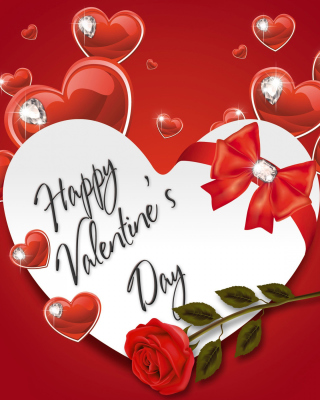 Valentines Day Present - Obrázkek zdarma pro Nokia Asha 303