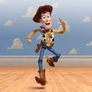Cowboy Woody in Toy Story 3 - Obrázkek zdarma pro iPad
