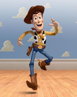 Cowboy Woody in Toy Story 3 - Obrázkek zdarma pro 128x160