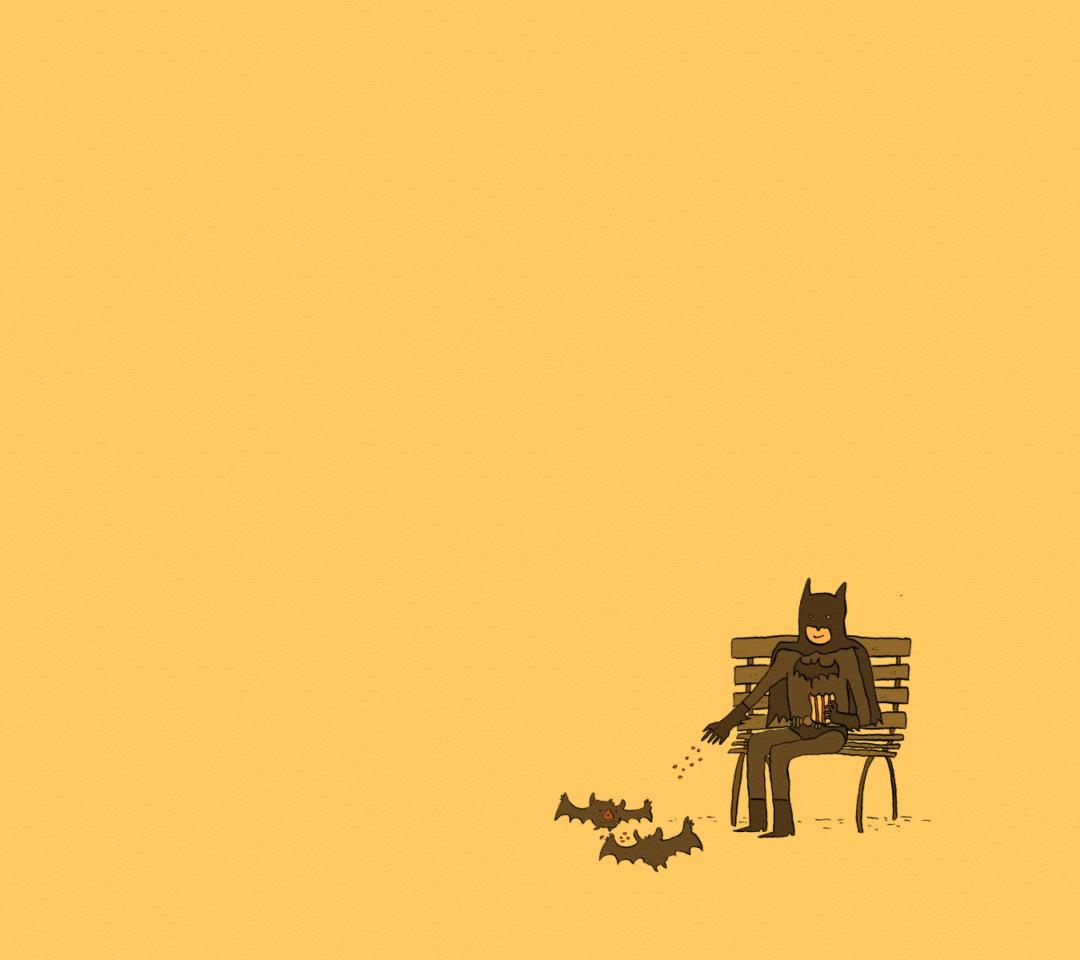 Screenshot №1 pro téma Batman Feeding Bats 1080x960