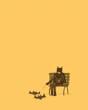 Screenshot №1 pro téma Batman Feeding Bats 176x220