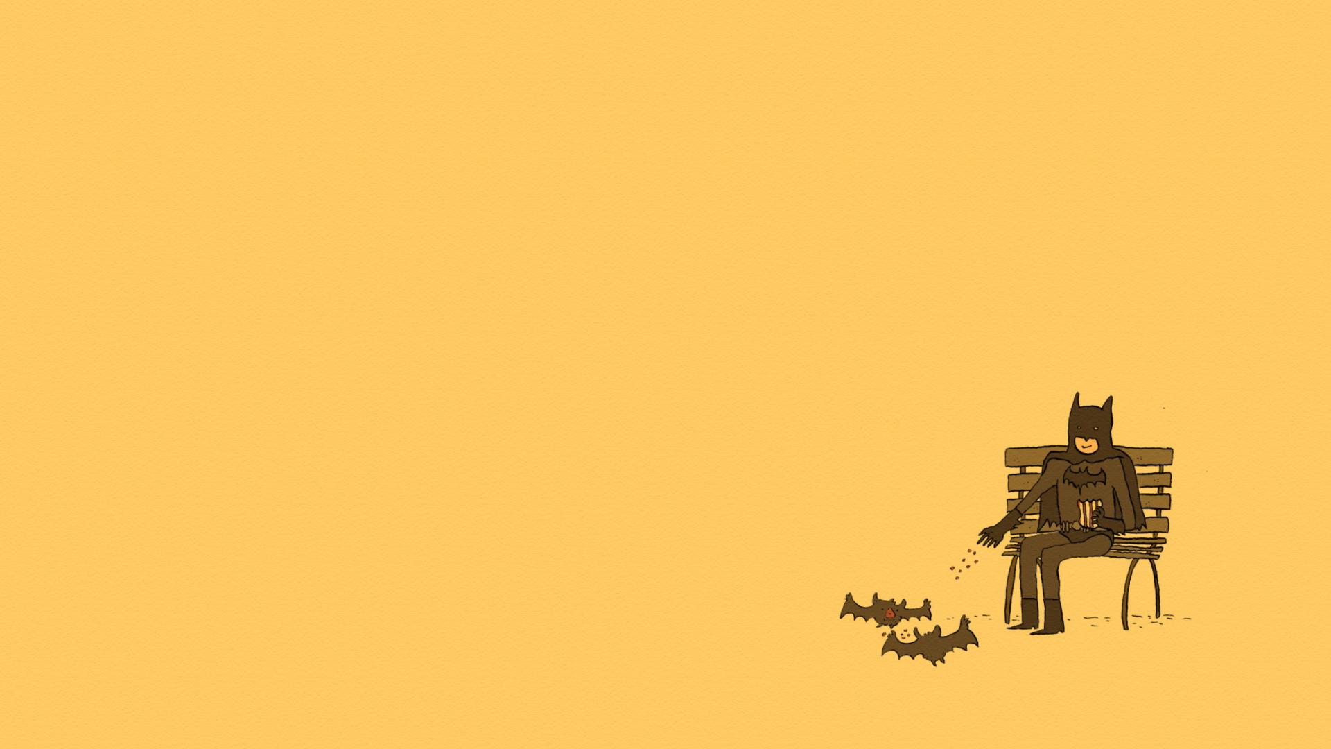 Screenshot №1 pro téma Batman Feeding Bats 1920x1080