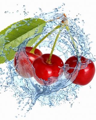 Cherry Splash - Obrázkek zdarma pro iPhone 4
