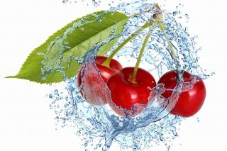 Cherry Splash - Obrázkek zdarma pro Samsung Galaxy Tab 3 8.0