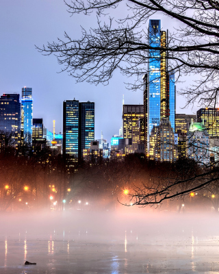 New York Central Park - Obrázkek zdarma pro Nokia Asha 502