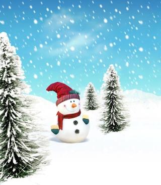 Christmas Snowman - Obrázkek zdarma pro 240x320