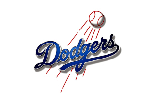 Los Angeles Dodgers Baseball - Obrázkek zdarma pro Desktop 1280x720 HDTV