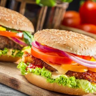 Fast Food Burgers - Obrázkek zdarma pro iPad 2