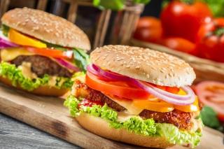 Fast Food Burgers - Obrázkek zdarma pro Samsung Galaxy Nexus