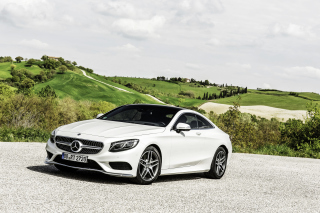 Mercedes Benz S Class Coupe Wallpaper for Android, iPhone and iPad
