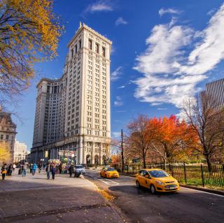 Manhattan, New York City - Obrázkek zdarma pro iPad mini