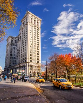 Manhattan, New York City - Obrázkek zdarma pro Nokia Asha 308