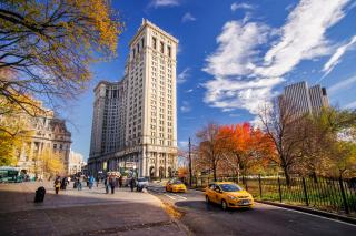 Manhattan, New York City - Obrázkek zdarma pro 1366x768