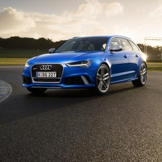 Audi RS 6 - Obrázkek zdarma pro iPad