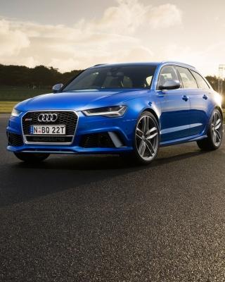 Audi RS 6 - Obrázkek zdarma pro iPhone 4