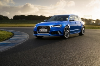 Audi RS 6 - Obrázkek zdarma pro Samsung Galaxy S 4G