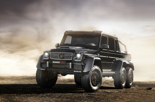 Mercedes-Benz G63 AMG Brabus Wallpaper for Android, iPhone and iPad