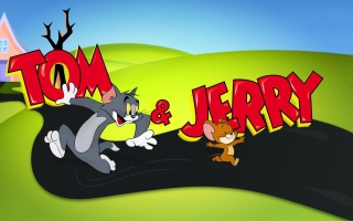 Tom And Jerry Cartoon - Obrázkek zdarma pro Fullscreen Desktop 1600x1200