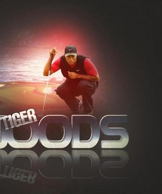 Tiger Woods - Obrázkek zdarma pro Nokia Asha 501