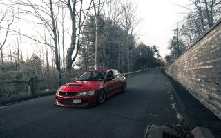 Mitsubishi Lancer Evo - Obrázkek zdarma pro 960x854