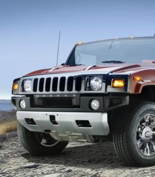 Hummer H2 Sedona Metallic Chrome - Obrázkek zdarma pro 132x176